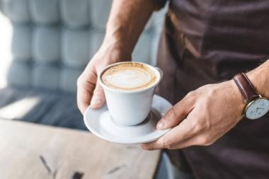 Время пить кофе!